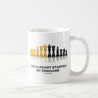 He comenzado ya mi Endgame la actitud del ajedrez Tazas De Café