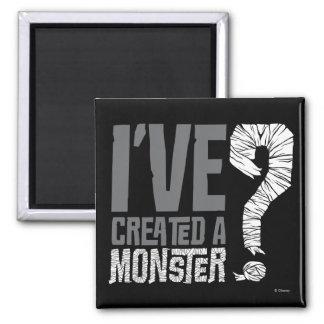 He creado a un monstruo imán cuadrado