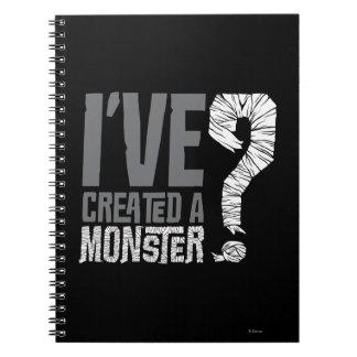 He creado a un monstruo note book