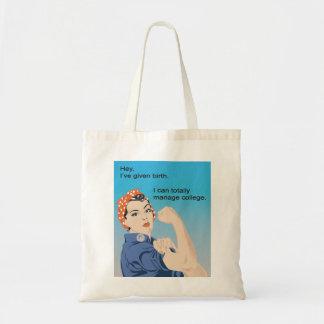 He dado a luz… bolsas lienzo