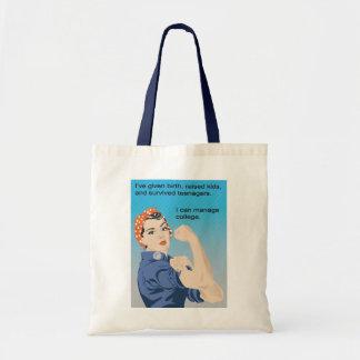 He dado a luz y más… bolsas de mano