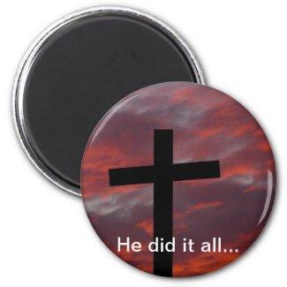 He did it all... fridge magnets