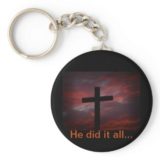 He did it all... keychains