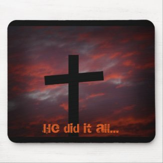 He did it all... mousepads