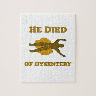 He Died Of Dysentery Puzzle