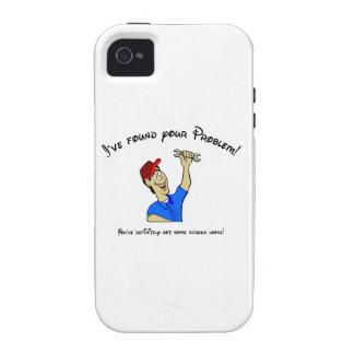 ¡He encontrado su problema ¡Usted tiene tornillo iPhone 4 Funda