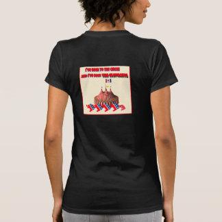 He estado al circo y he visto el elefante camisetas