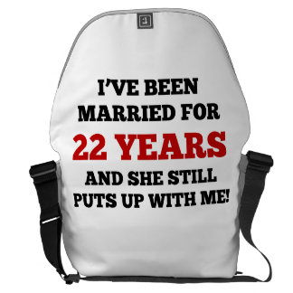 He estado casado por 22 años bolsa messenger