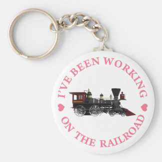 He estado trabajando en el ferrocarril llavero personalizado