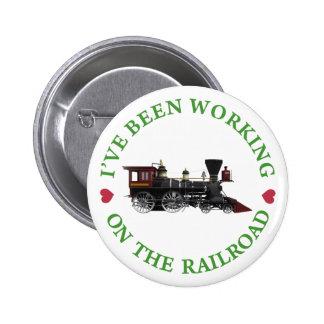 He estado trabajando en el ferrocarril pins