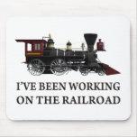 He estado trabajando en el ferrocarril tapetes de ratones