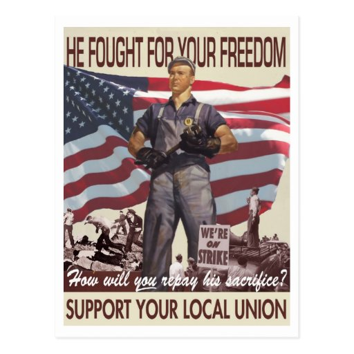 He Fought For Your Freedom Postcard