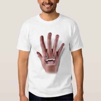 He Has a Mean Backhand! Tee Shirt