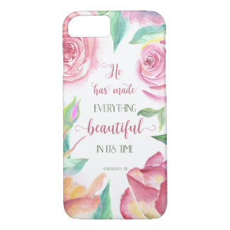 He Has Made Everything Beautiful Ecclesiastes 3:11 iPhone 8/7 Case