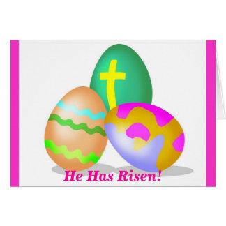 He Has Risen! Card