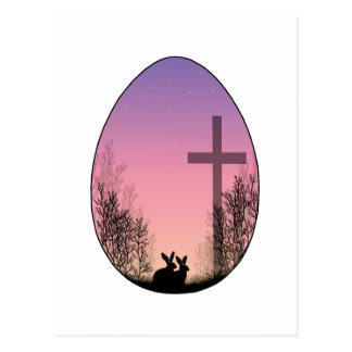 He Has risen Postcard