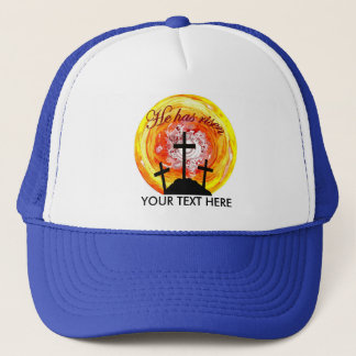 He has risen trucker hat