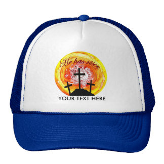 He has risen trucker hat