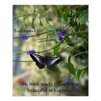 He hath made every thing beautiful Poster