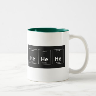 he he he Two-Tone coffee mug