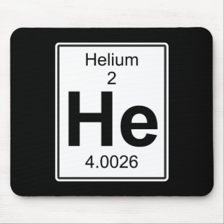 He - Helium Mouse Pad