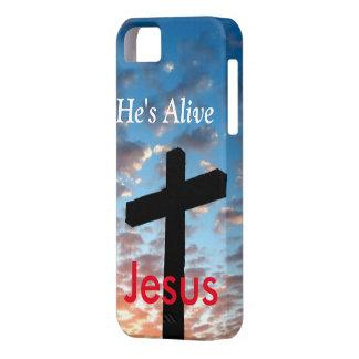 He is Alive Jesus iPhone SE/5/5s Case