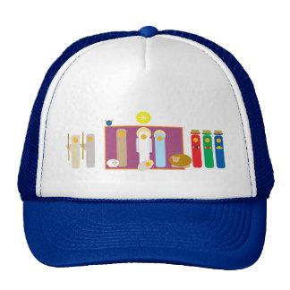 """He is Born"" Christmas Nativity Creche Trucker Hat"