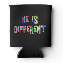 He Is Different Autism Autism Awareness Can Cooler