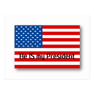 He IS my President Postcard