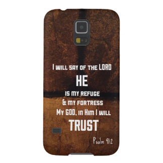 He Is My Refuge Samsung Galaxy S5 Case
