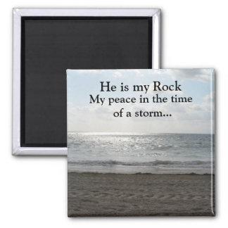 He is my Rock Nature Scene Magnet