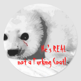 He Is Real! Classic Round Sticker