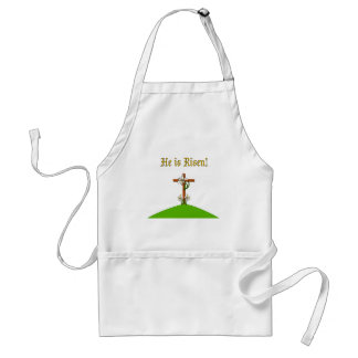 He Is Risen Adult Apron