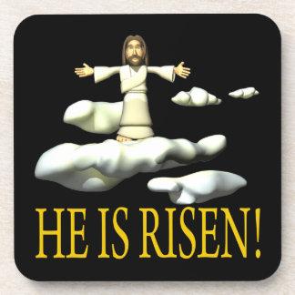 He Is Risen Beverage Coaster