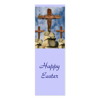 He Is Risen Double-Sided Mini Business Cards (Pack Of 20)