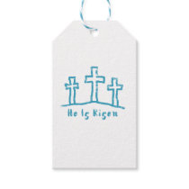 He Is Risen Calvary Easter Resurrection Gift Tags