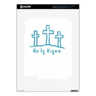 He Is Risen Calvary Easter Resurrection iPad 3 Skin