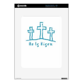 He Is Risen Calvary Easter Resurrection iPad Skin