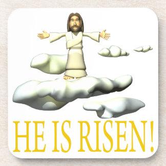 He Is Risen Coaster