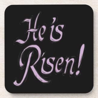 He Is Risen Drink Coaster