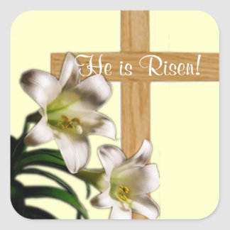 He Is Risen!  Easter Stickers