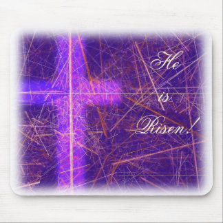 He is Risen - Easter Time! Mouse Pad