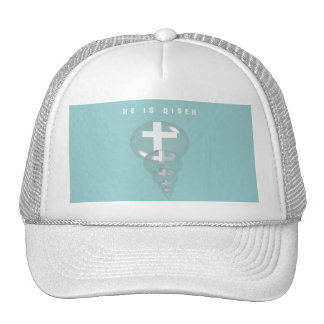 He is Risen Gifts Trucker Hat