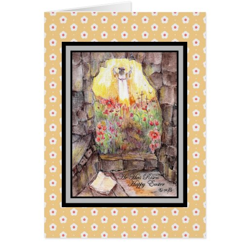 He is Risen... Greeting Card