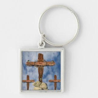 He Is Risen Keychain