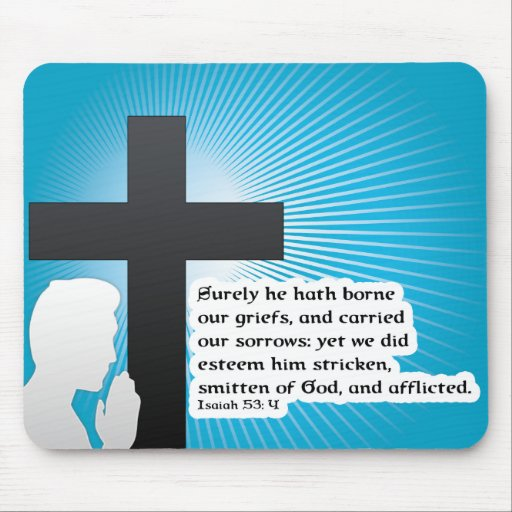 he is risen mouse pad