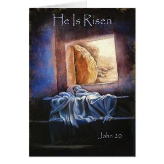 """He is Risen"" Notecard"