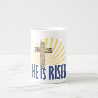 He is RISEN on Easter Porcelain Mug