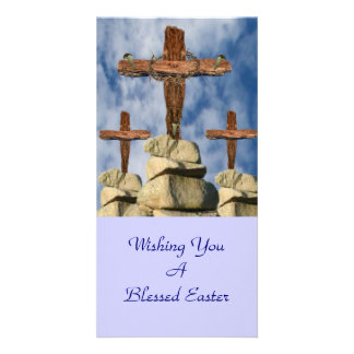 He Is Risen Photo Card