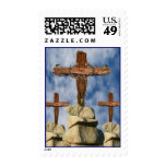 He Is Risen Postage